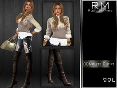 (PROMO)!!(FEMALE COMPLETE OUTFIT) YOUR LOVE