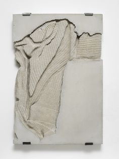 Marie Lund | 'Torso', concrete, cotton, Laura Bartlett Gallery