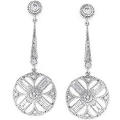 Cz Zodiac Earrings