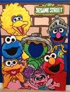 sesame street standee  for Daulton's 2nd birthday party