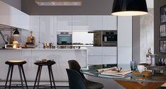 Cucina bianca moderna 09