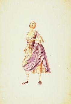 Smeraldina, Servant of Two Masters, by Carlo Goldoni.   Il Piccolo, Teatro di Milano