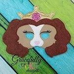 Beauty  Pet Felt  Mask  Embroidery Design - 5x7 Hoop or Larger