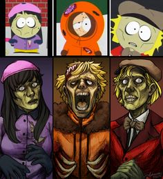 South Park Pink Eye by SUCHanARTIST13.deviantart.com on @DeviantArt