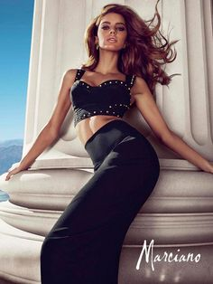 Guess by Marciano Spring/Summer 2013 Campaign featuring Leticia Zuloaga and Nadine Wolfbeisser