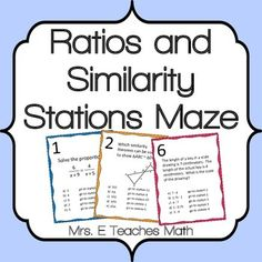 Stations mazes are great because they get students up and moving around the room. They also encourage students to check their work carefully since an incorrect answer will eventually send them back to a problem they have already solved. Successfully completing the maze requires students to slow down and check their work.
