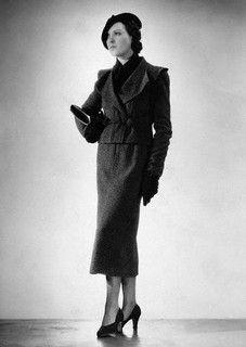 Wearing Elsa Schiaparelli, 1935 by dovima_is_devine_II, via Flickr