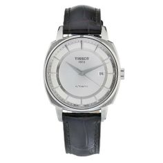 Tissot Men's T0595071603100 Automatic Stainless Steel Silver Dial Watch Tissot. $524.89. Antireflective sapphire crystal. Automatic movement. Case diameter: 40 mm. Casual watch. Water-resistant to 50 M (165 feet). Save 22% Off!