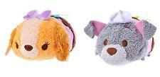 New Disney Store Japan Mini (S) Tsum Tsum Valentine Set of 2 (Lady & Tramp) NWT