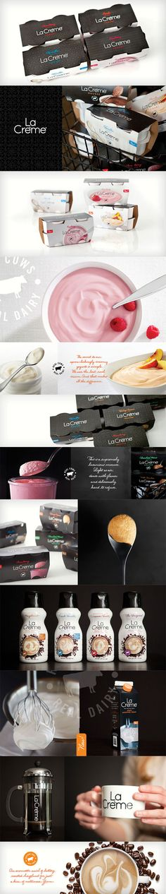 La Créme #identity #packaging #branding #marketing PD