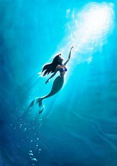 Welcome to Walt Disney World. Come and enjoy the magic of Walt Disney World Resort in Orlando, FL. Ariel Disney, Disney Dream, Disney Magic, Disney Art, Mermaid Disney, Disney Princesses, Ariel Mermaid, Mermaid Swimming, Disney E Dreamworks
