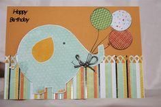 kaisercraft party animals card | Party Animals