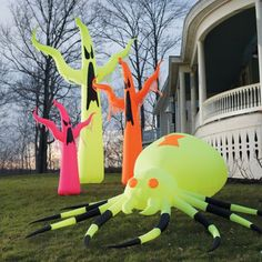 Neon Inflatable Ghosts  $89.00 - $199.00