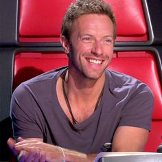Chris on the voice - he's so, so beautiful