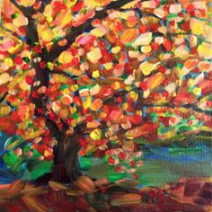 Vibrant and loose brushstrokes create a sense of freedom and movement.
