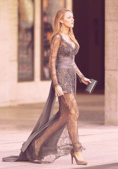serena van der woodsen in zuhair murad before new york city ballet.