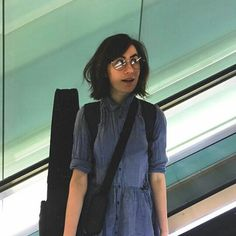 Dodie on her way to Japan 23.3.17