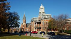 Medina County Courthouse, UCC Church November 2015