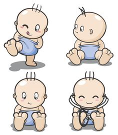 cartoon characters | Baby Cartoon Characters [EPS File] Vector EPS Free Download, Logo ...