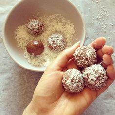 Fruit Free bliss balls