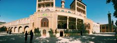 A panoramic view of the Golestan Palace