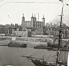 Tower of London from the Thames, c.1910