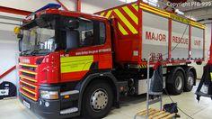 Derbyshire Fire & Rescue Service Scania P310 Prime Mover Major Rescue Unit