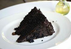 Blackout Cake Black chocolate stout Black cocoa noir Dark chocolate ...