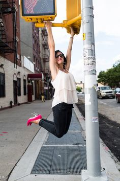Pullups in Pink Pumps