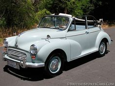 1967 Morris Minor Convertible Maintenance/restoration of old/vintage vehicles: the material for new cogs/casters/gears/pads could be cast polyamide which I (Cast polyamide) can produce. My contact: tatjana.alic@windowslive.com