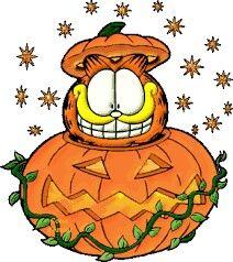 Halloween!!!! Garfield Cartoon, Garfield And Odie, Garfield Comics, Garfield Quotes, Garfield Halloween, Halloween Cat, Holidays Halloween, Halloween Humor, Halloween Pictures
