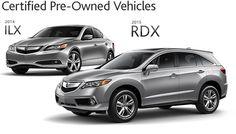 2014 ILX and 2015 RDX