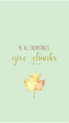 28th Week of Ordinary Time // 1 Thesselonians 5:18 // In all circumstances, give thanks. // Blessed is She