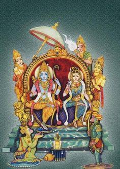 Mysore Painting, Tanjore Painting, Indian Gods, Indian Art, Lord Rama Images, Shri Hanuman, Lord Vishnu Wallpapers, Hindu Deities, Hinduism