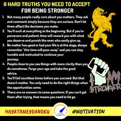 6 Hard Truths You Need To Accept For Being Stronger False Friends, Intelligent People, You Matter, Hard Truth, Secret To Success, Motivation Success, One Life, Care About You, Always Remember
