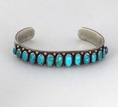Navajo (Dine') row bracelet