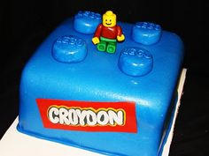 Layers of Love: Quick Lego cake