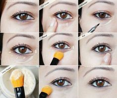 Como maquillar las ojeras