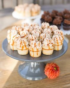 little salted caramel cupcakes