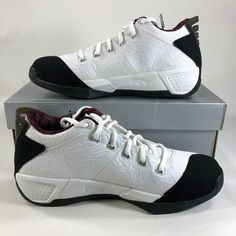 new arrival 5563a 982e9 2005 Air Jordan 20 3 4 White Garnet 312348101 Sz. 9, NIB,