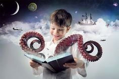 Cool Photoshop tutorials//Create an Incredible Story Coming Alive Fantasy Photomanipulation