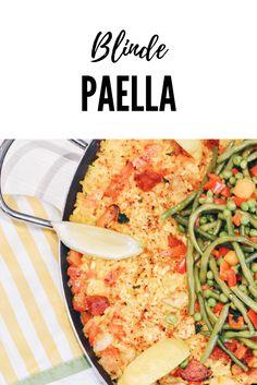 Nicht nur für Blinde: die Paella!
