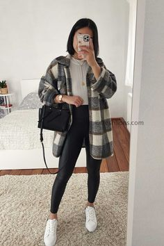Trendy Fall Outfits, Casual Winter Outfits, Winter Fashion Outfits, Simple Outfits, Classy Outfits, Look Fashion, Stylish Outfits, Vintage Outfits, College Winter Outfits