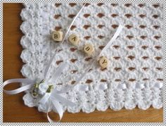 Resultado de imagen de free crochet patterns for christening blankets