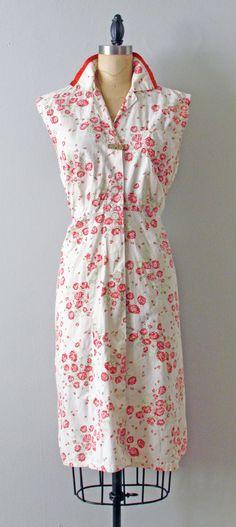depression era cotton house dress