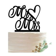 Aisila Mr and Mrs Cake Topper Black Acrylic Cake Toppers for Wedding Party Decoration >>> Visit the image link more details. (This is an affiliate link) Wedding Cake Toppers, Wedding Cakes, Acrylic Cake Topper, Black Acrylics, Decorating Tools, Party Supplies, Place Card Holders, Decoration, Image Link