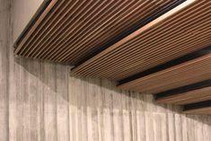 Laudescher LINEA suspended ceiling : Veolia Head Office