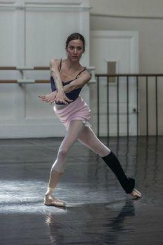 Ballerina Ludmila Pagliero rehearsing Notre Dame de Paris   Photo by Anne Denieau