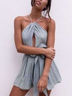 Cali Open Back Playsuit Available @ www.2loveone.com