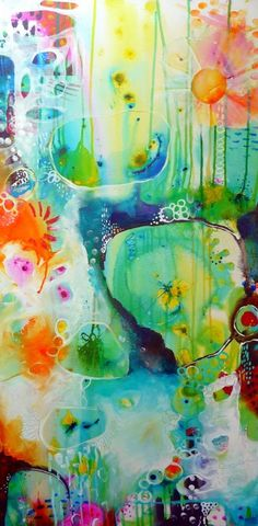 Heartful Musings: paintings Tracy Verdugo